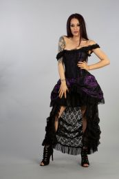 Versailles corset dress in purple king