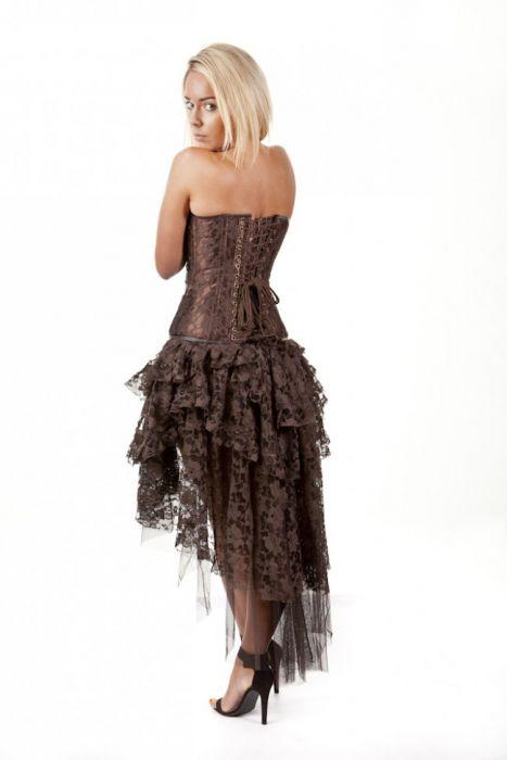 Burleska Womens Steampunk Ophelie Skirt
