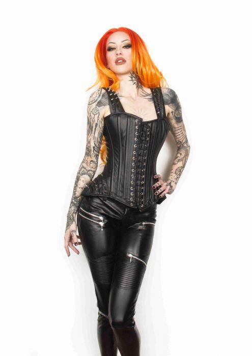 1ebfe97a1f48b Faith women's skinny faux leather pants in black FAITRMATBLK by Burleska  color Black