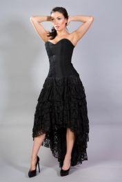 black corset dress  corset dresses  ophelie  burleska