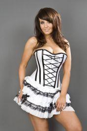 corset dresses  white corset dress  lolita  burleska