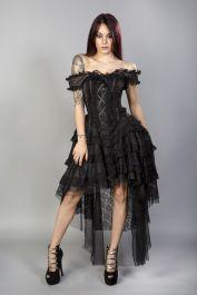 brown corset dress  corset dresses  ophelie  burleska