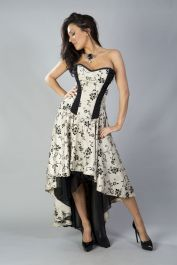 high low corset dress  corset dress  valerie  burleska