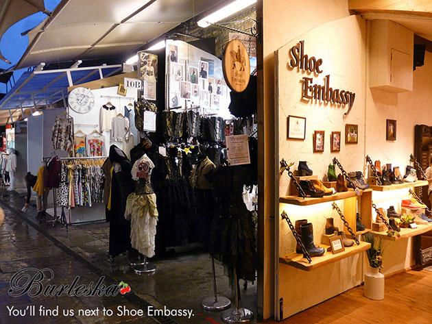 Burleska Camden Boutique